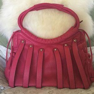 Handbags - Hot Fuchsia Pink Gypsy Bag